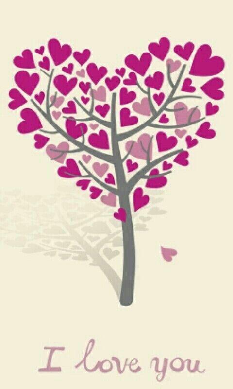 Arbol de corazones