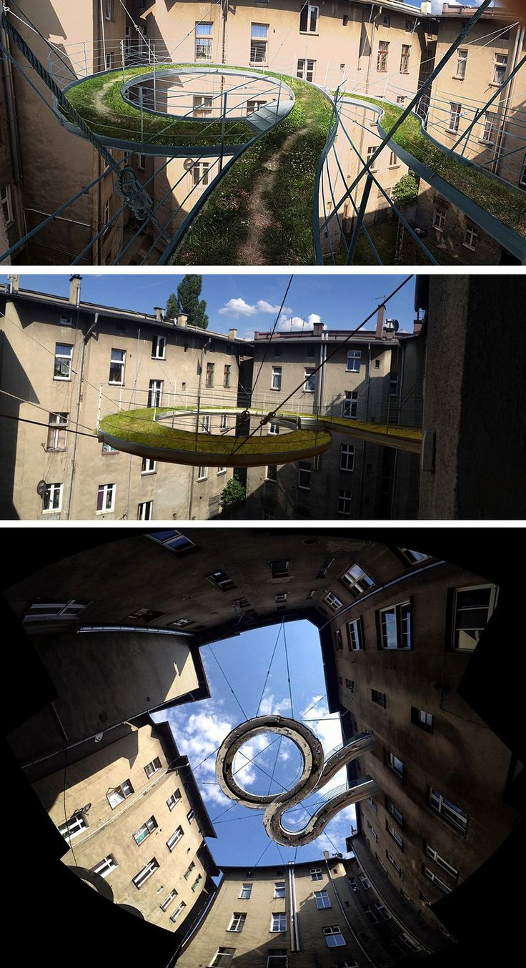 Zalewski architecture group have designed a concept for a for Balcony concept