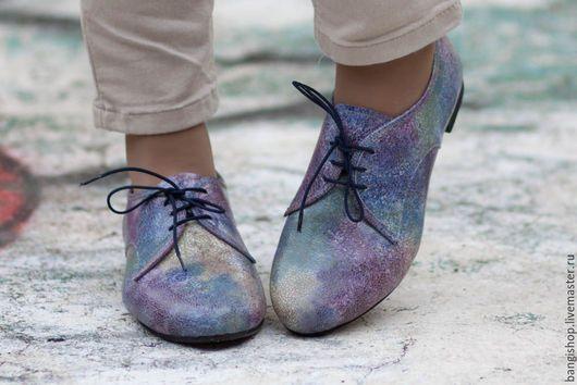 Обувь ручной работы. Ярмарка Мастеров - ручная работа. Купить Кожаные ботинки Bono. Handmade. Кожаные ботинки, женская обувь