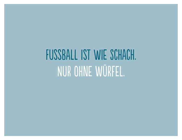 Fußball ist wie Schach - Postkarte // postcard football by Frieda-Werkstattladen via DaWanda.com