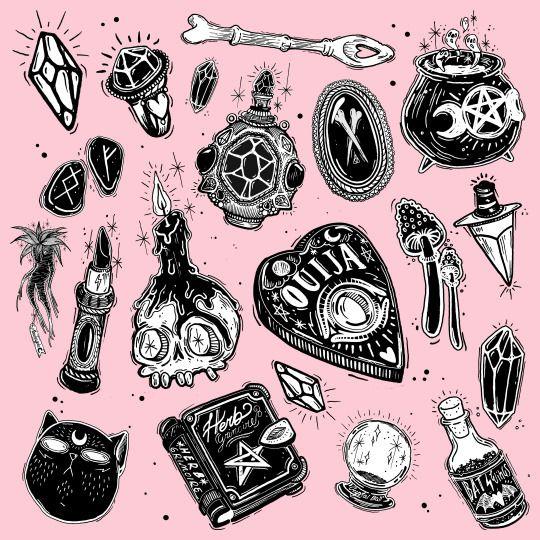 ouija board tattoo idea                                                                                                                                                                                 More