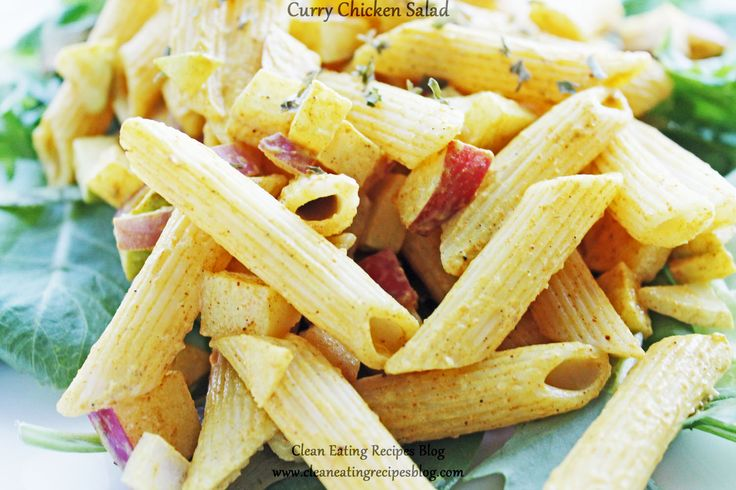 Curry Pasta Salad | Clean Eating Recipes - Clean Eating Diet Plan Made Easy