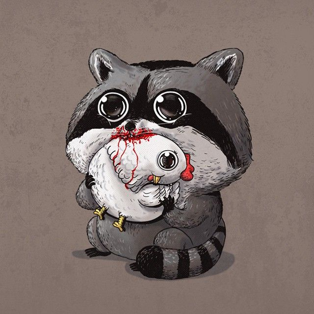 Adorable Predators vs Prey Art http://geekxgirls.com/article.php?ID=5877