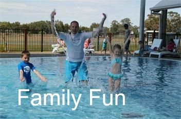 You can spend a couple of hours jumping on the pillow (while Mum & Dad relax on the riverfront), splash around in the Water Park (Mum & Dad still relaxing), play at the playground, a round of 18 holes at our mini golf course, ride the pedal Go-Karts or a hit of tennis? Or if movie nights are happening relax and enjoy the open air show (weather permitting) Board games to borrow and holidays brings lots of activities. #big4deni #holiday #holidaywithkids #holidaywithdogs #caravaning #family