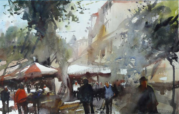 See photos, watercolours of Alvaro Castagnet an EPC Art Courses Tutor. Also learn about him and why you should take a course with him