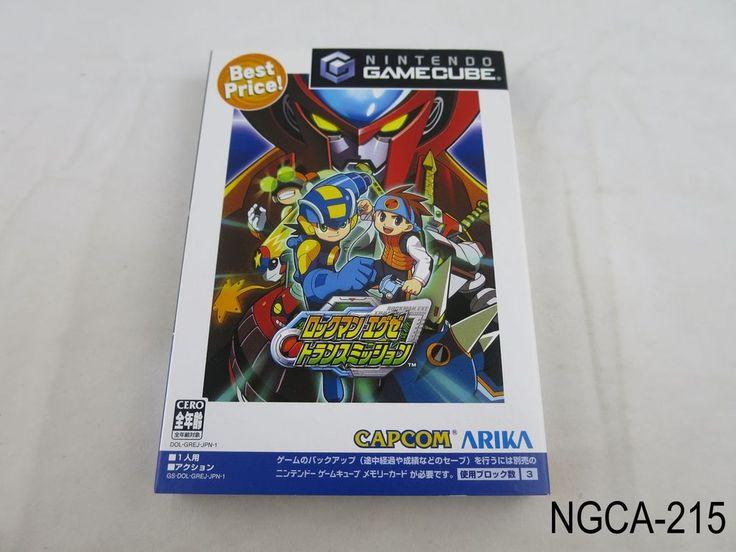 Rockman EXE Transmission Japanese Import Nintendo Gamecube Megaman Network Best in Video Games   eBay