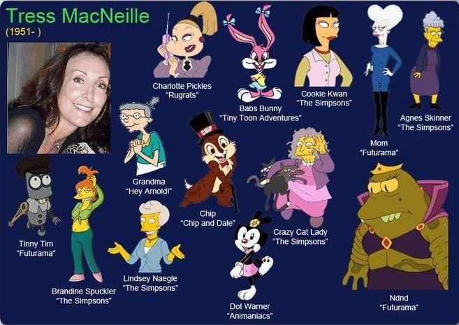 Tress MacNeille
