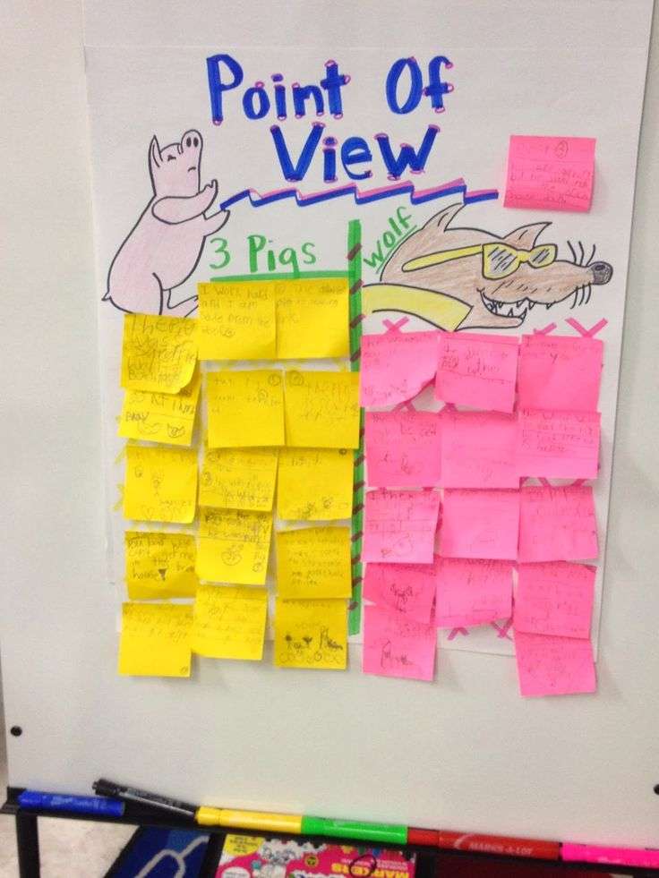 Tricycles and Triangles: Point of View & The Three Little Pigs!