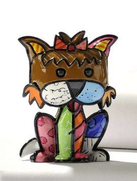 Фигурка собачки коллекционная BRITTO, Йорк.  #makaronka #makaronka_shop #britto #gifts #souvenirs