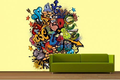 Graffiti Mix Wallpaper
