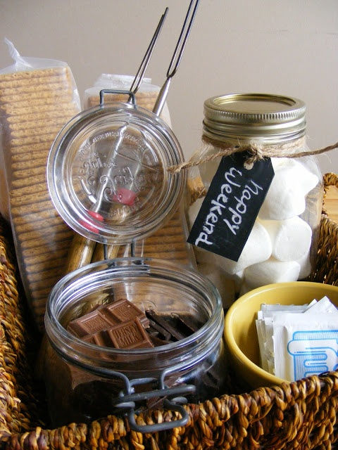 The Complete Guide to Imperfect Homemaking: Weekend Graces #7: Assemble A S'mores Basket