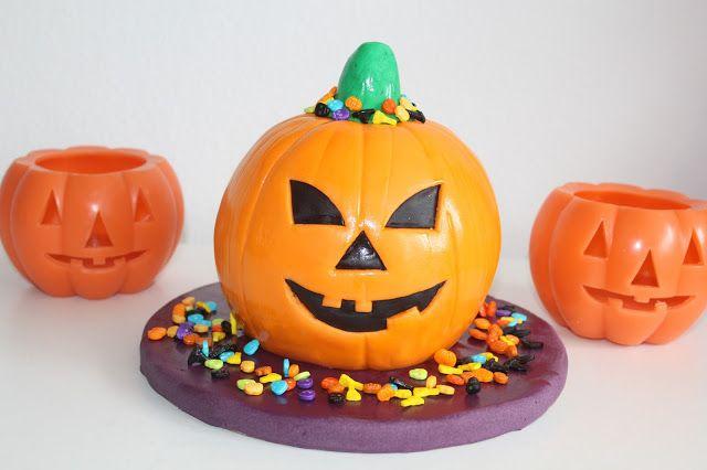 Theresas Backstube: Halloween Kürbis