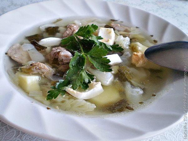 Суп со свежей капустой и щавелем | Рецепт | Национальная ...