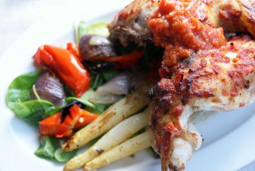 Healthy sweet chili chicken.  Sunn sweet chili kylling med hjemmelaget sursøt chilisaus.