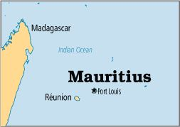 Around the World in 235 Days ~ Day #11 (April 16, 2012): Pray for Mauritius (Africa).