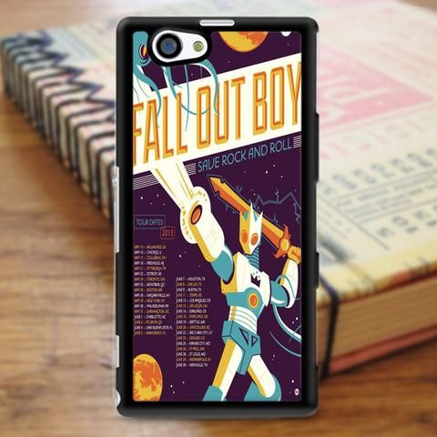 Fall Out Boy Superheroes Sony Experia Z3 Case