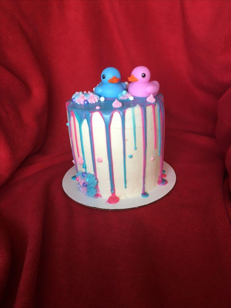 Gender Reveal Cake!