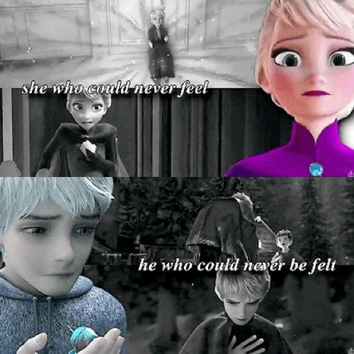 Yeah, I kinda ship Jack and Elsa now…