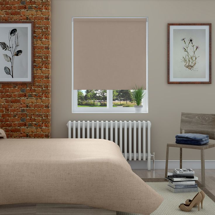 Bella Hessian Roller Blinds - Make My Blinds