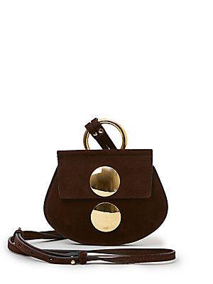 Chloe Faye Mini Suede Crossbody Bag | NO PAPER BAGS ALLOWED ...