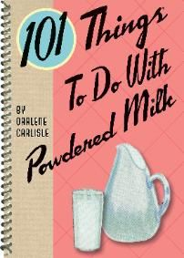 Got Powdered Milk in your food storage? 101 Things to do with Powdered Milk: http://happypreppers.com/milk.html