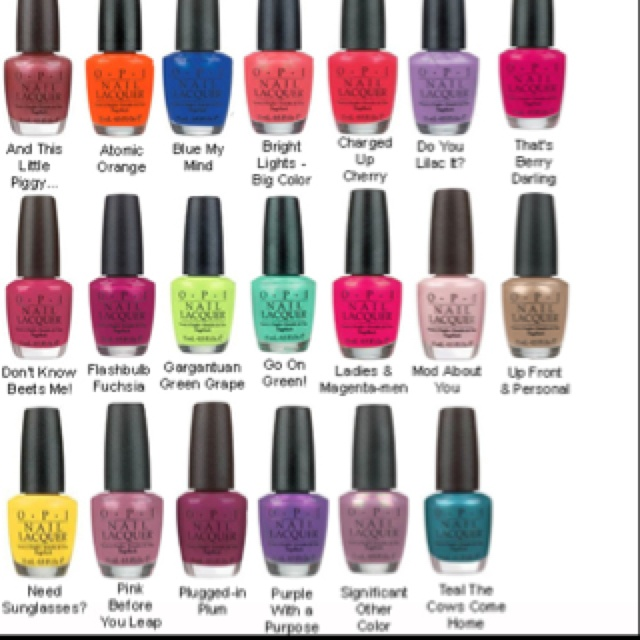 O P I Nail Polish Products In 2019 Opi Nails Nails Opi Nail Colors