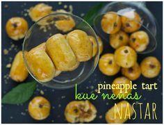 Indonesian Medan Food: Nastar / Kue Nenas ( Pineapple Tart)