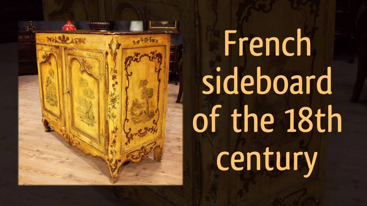 2600€ Lacquered French sideboard of the 18th century #antiques #antiquites #sideboard #credenza #buffet #antiquariato #antiquario #antique #arredamento