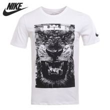 Original New Arrival 2017 NIKE DRY TEE LION Men's T-shirts short sleeve Sportswear