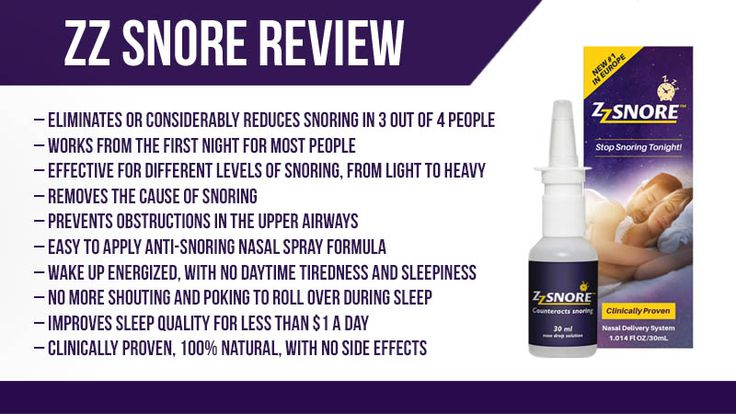 ZZ Snore Review: Nasal Spray to Snore Less, Sleep More