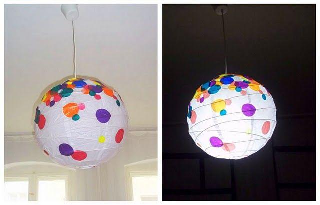 Hundreds and Thousands Regolit lamp | IKEA Hackers