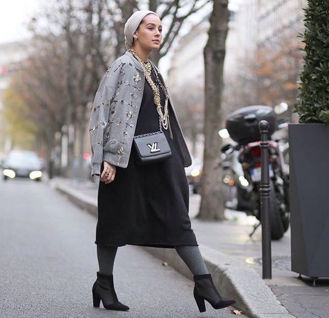 Pinned via #MrsRAwabdeh |Ascia_akf #hijabfashion