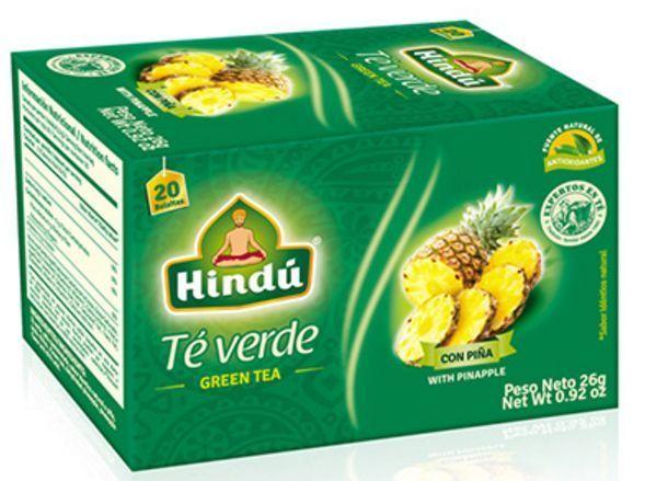 (3x Box) Hindu Green Tea Box with Pineapple - 60 Bags Total Natural Weight Loss #hindu