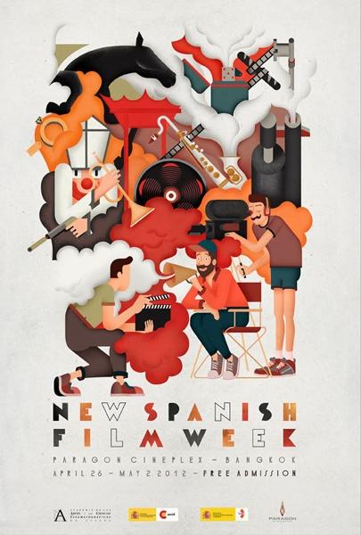 New Spanish Film Week 2012, Bangkok