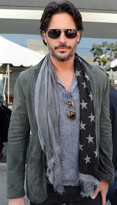 Men's Scarves - Thank God. Longer hair. Softer material. More comfortable. I like the scarf.