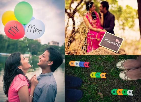 Fun And Fantastic Props Couples Can Add To Their Pre-wedding Shoot