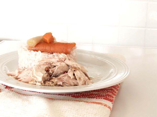 Arabafelice in cucina!: Pollo (che non sembra...) lesso