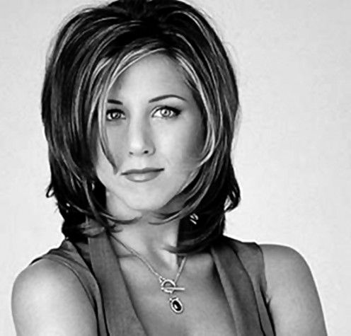 "Jennifer Aniston - ""The Rachel"" - 2013 Hairstyles For Medium Length Hair Style Cuts ALWAYS LOVE This style"