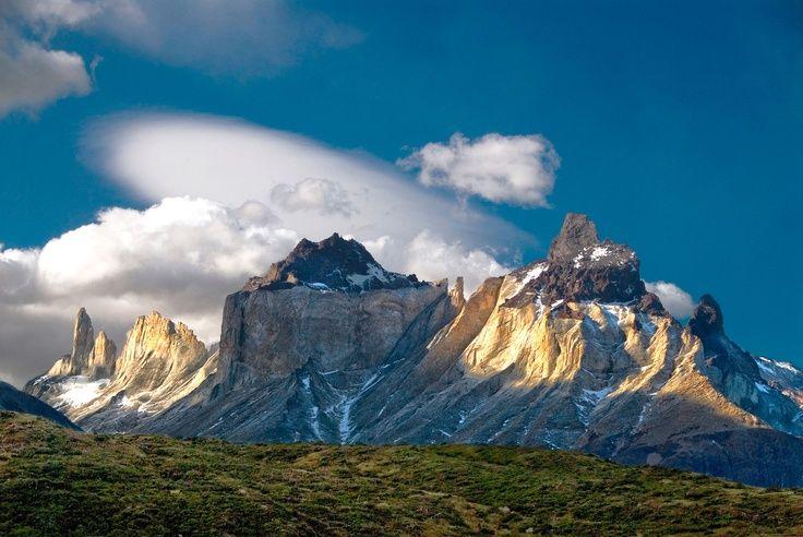 Día - 5 . vista de valle Frances desde sendero Paine Grande - refugio Italiano