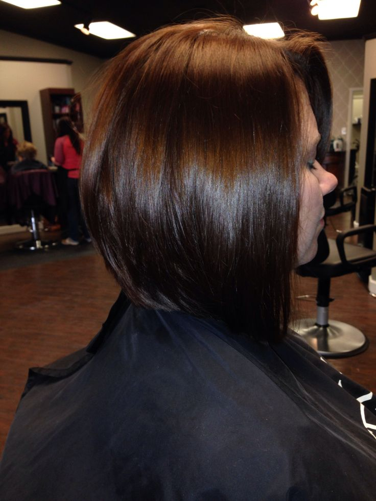 Long Inverted Bob Our Stylist Work Pinterest Bobs