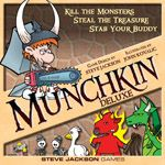 Munchkin Deluxe - Go down in the dungeon. Kill everything you meet. Backstab your friends and steal their stuff. Grab the treasure and run.