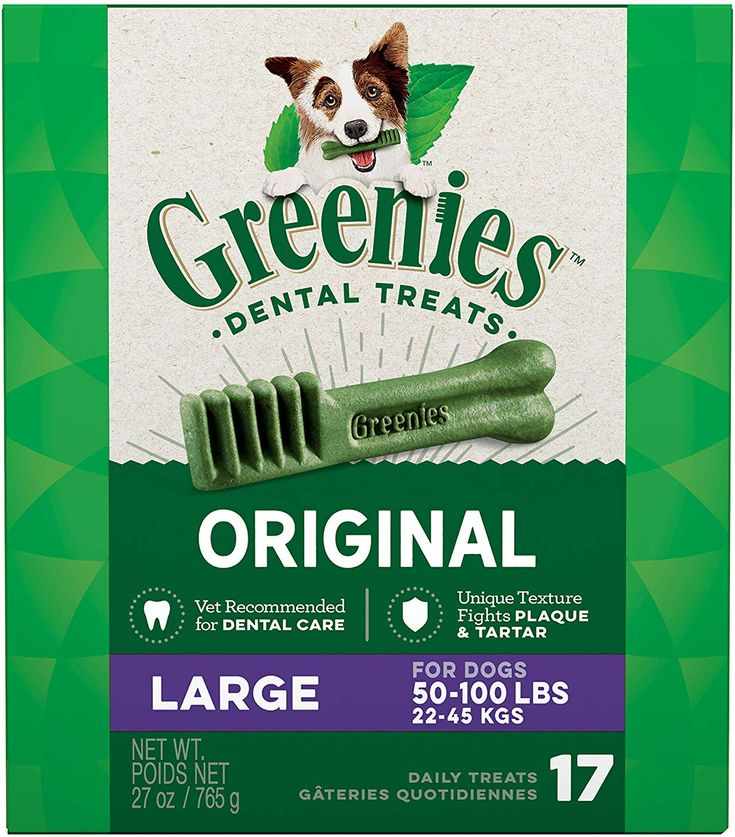 Greenies original large dog natural dental treats 27