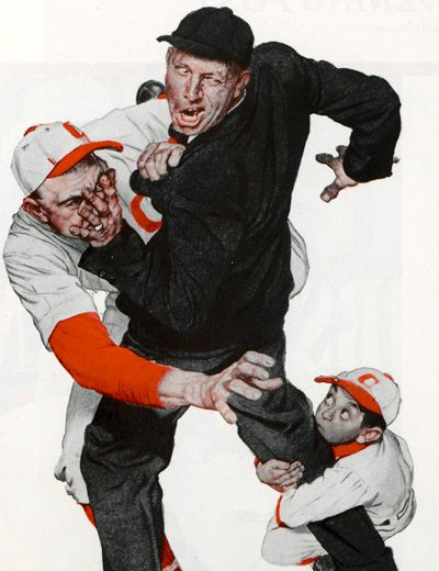 Norman Rockwell Most Famous Painting | Norman Rockwell illustration for James Thurber's short story You ...