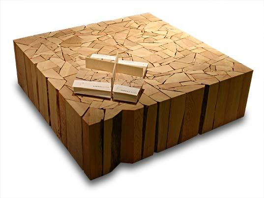 Shattered Coffee Table by Brent Comber (2005).