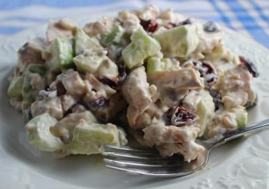 Tuna Waldorf Salad is a Refreshing and Inexpensive Twist on the Classic: Waldorf Tuna Salad