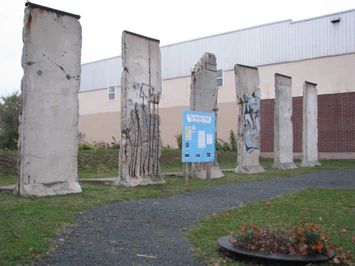 pieces of the berlin wall in truro, NS