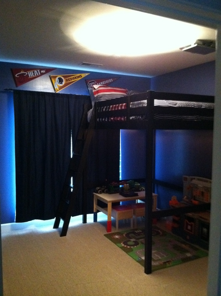 Part of my little boys room!