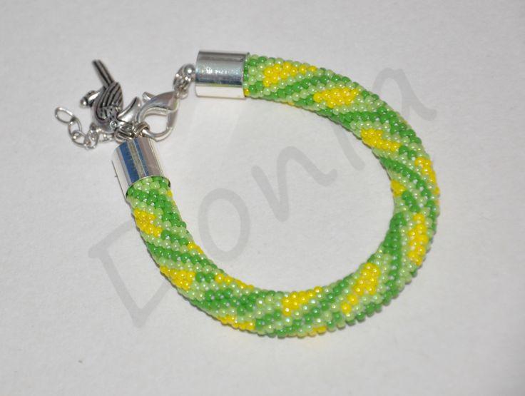 Bead Crochet Bracelet - Brazilian style