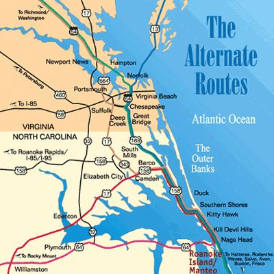 Directions From Virginia Beach To Outer Banks