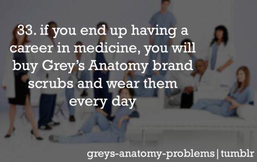 "TRUE STORY!! and they're freaking expensive and I don't even care cause im like, ""im wearin' my greys!"""
